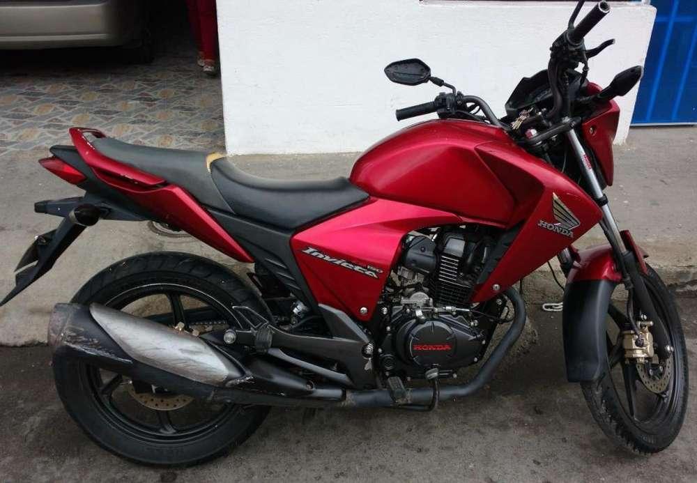 Honda invicta cb 150 cc Modelo 2013