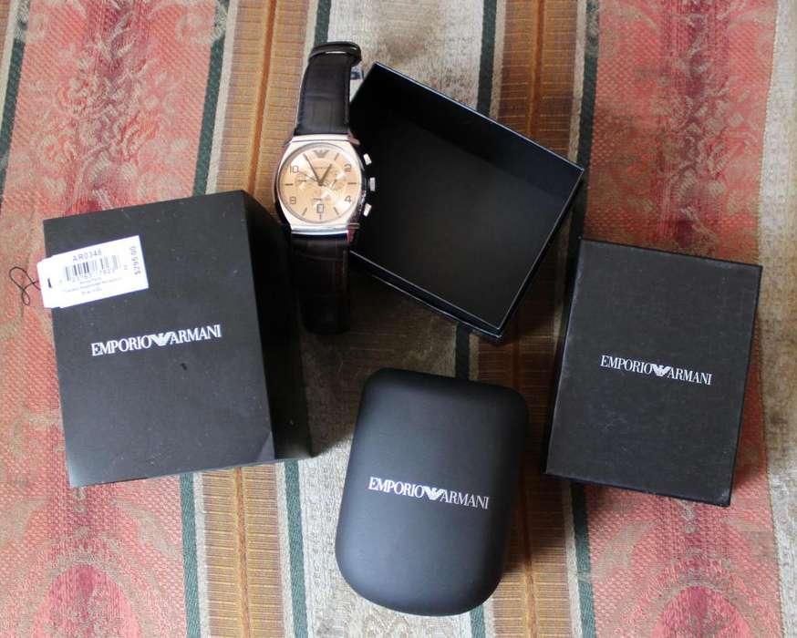 Reloj Emporio Armani AR0348 cronógrafo hombres