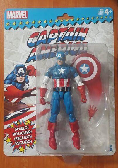 Marvel legends Captain America Gi joe motu heman dc universe star wars