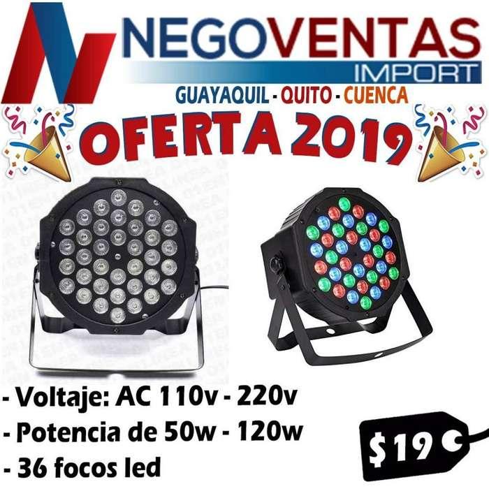 TACHO LED 36 FOCOS LED POTENCIA 50 W 120 W 110 VOLTIOS