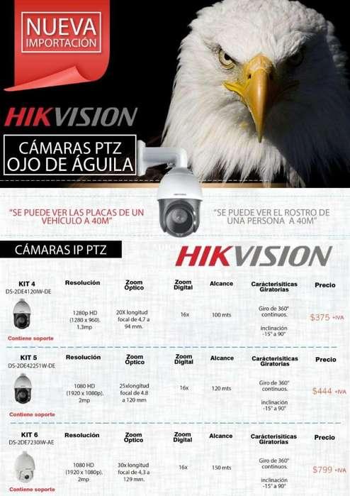 <strong>camara</strong>S HIKVISION PTZ OJO DE AGUILA <strong>camara</strong>S ALTA DEFINICION RESOLUCION 1028 /1080