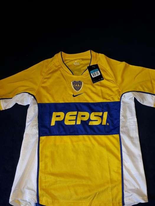 Remera de Boca Juniors Talle M