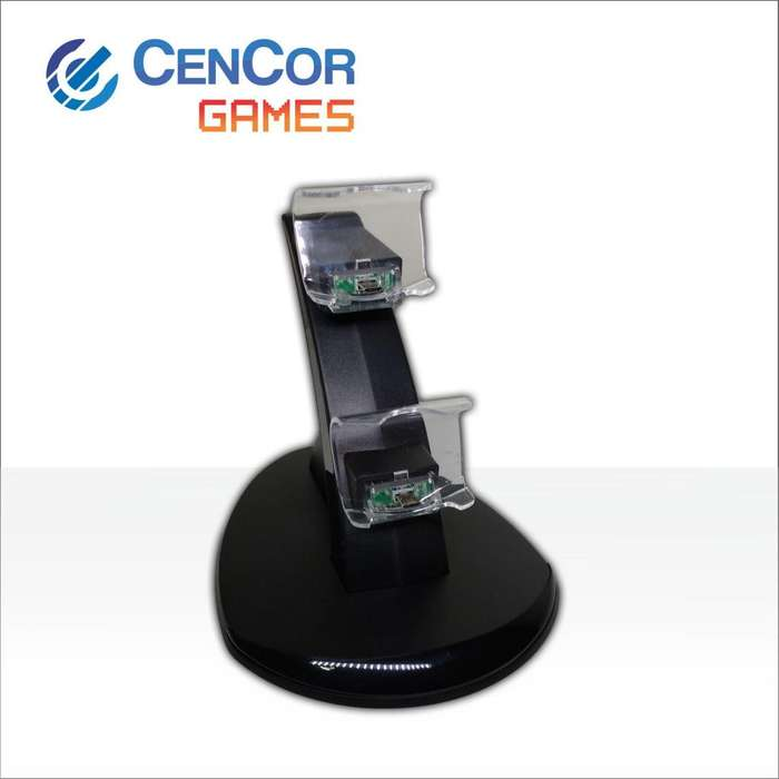 Base De Carga Para Joysticks Ps4! CenCor Electrónica