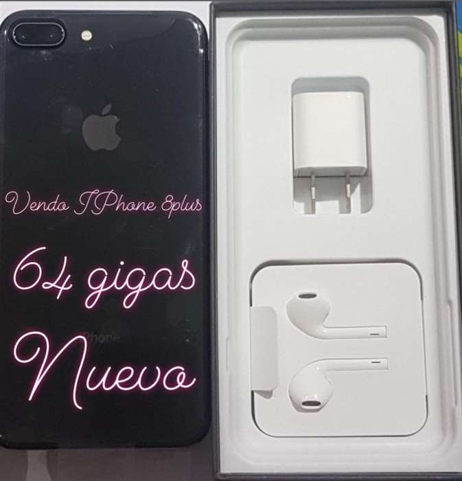 iPhone 8 Plus Negro. NUEVO