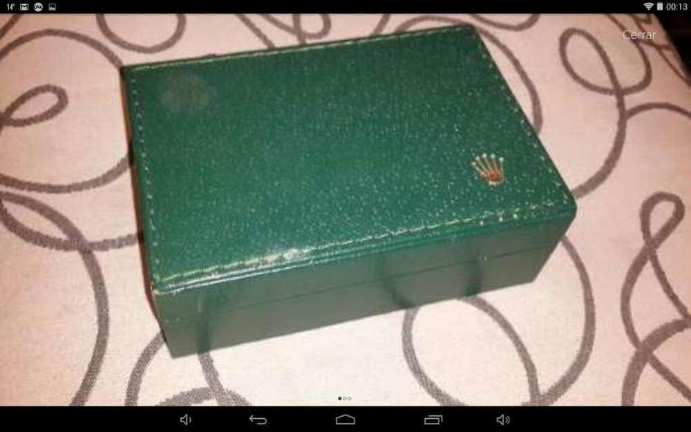 Caja Reloj <strong>rolex</strong> Suiza Original
