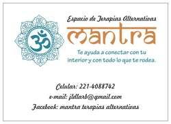 Espacio de Terapias alternativas Mantra.