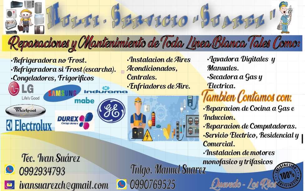 REPARACION Y MANTENIMIENTO DE LINEA BLANCA
