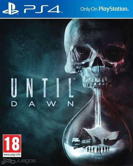 Until Dawn - Playstation 4 - Físico