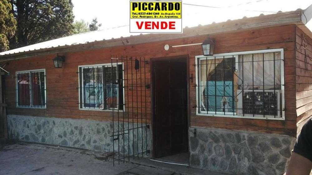 CASA EN VENTA Bº VILLA VENGOCHEA REF.1293 GRAL. RODRIGUEZ PICCARDO.