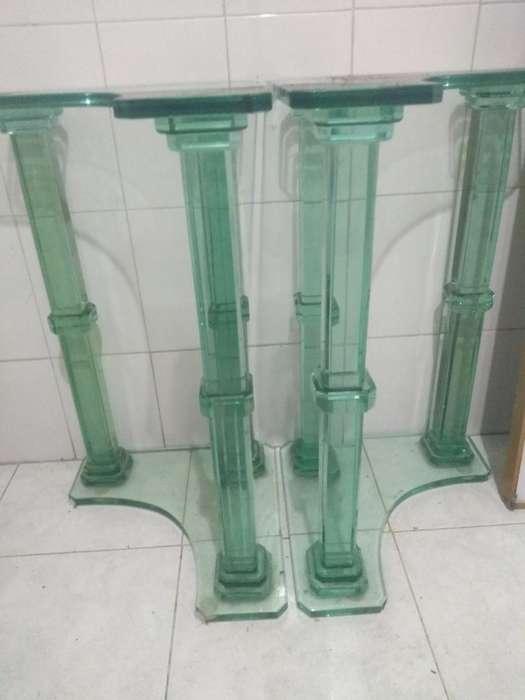 2 Vases de Comedor de Lujo Nuevas Varata