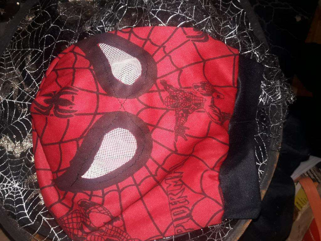 Mascaras Spiderman Scream Sombrero Bruja
