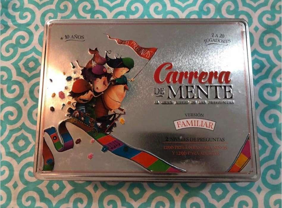 Carrera de Mentes Edición 2017 Como Nuevo