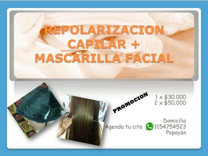Repolarizacion capilar Mascarilla Facial