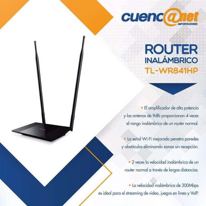 Tplink Tlwr841hp 300mbps 600mw 4 Port Switch 2 9dbi Dt Ant