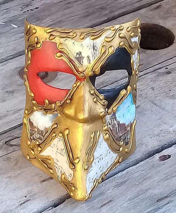 Mascara Veneciana Artesanal de Bauta
