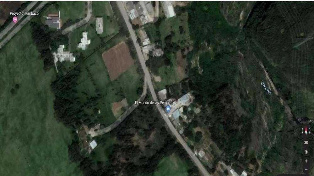 Terreno en Venta sector tumbaco muy cerca al Barrio Tola Chica 3