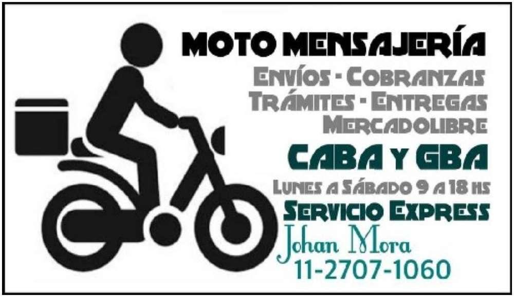 Motoquero Mensajeria Moto Delivery