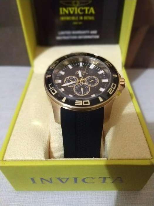 Reloj Invicta Pro Diver Black Gold