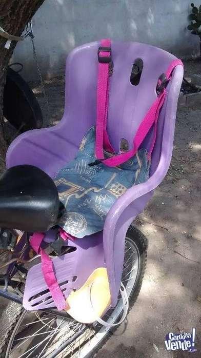 Silla para bicicleta niños