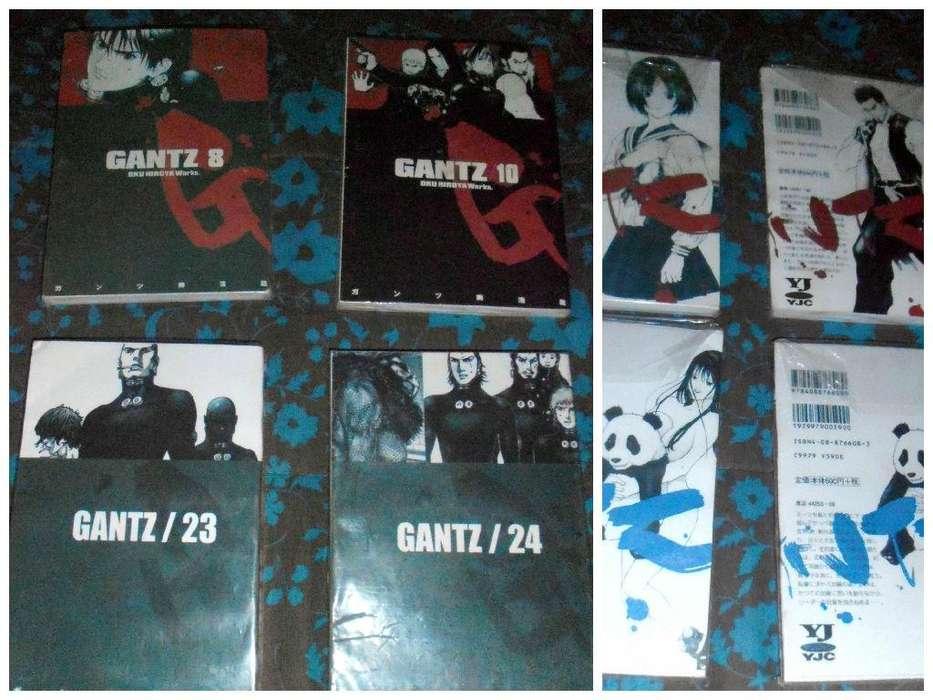 Vendo 3 Tomos de Manga Anime Gantz