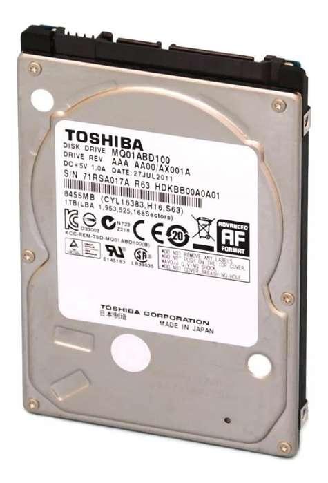 Disco Rigido Toshiba 2.5 1 Tb