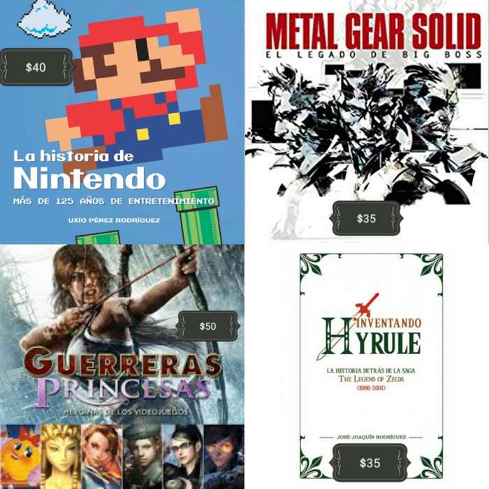Colección Libros Videojuegos Anime Manga Nintendo PlayStation Zelda Metal Gear Pokemon Dragon Ball Ghibli Fornite