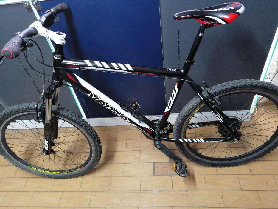 Bicicleta Venzo Aluminio 26 G.shimano