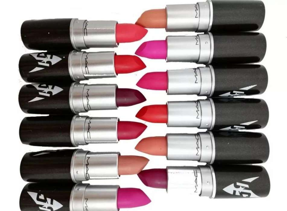 Labial Mac Barra Matte 12 Colores Maquillaje Profesional