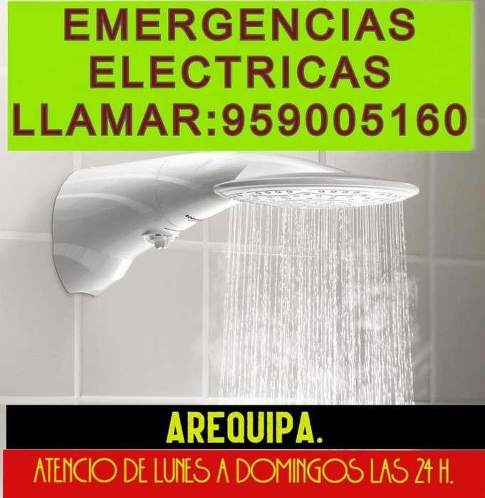 TÉCNICO ELECTRICISTA A DOMICILIO.CEL:959005160 O AL FONO:054 479096.AREQUIPA