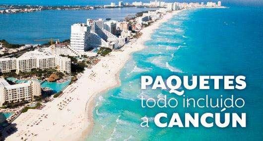 Paquete a Cancun todo incluido. 7 días, 6 noches