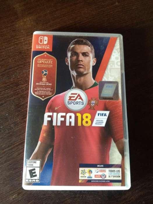 Vendo Fifa 18 Nintendo Switch 800