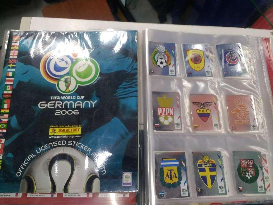 Mundial Alemania 2006 Panini Lote Fig.