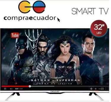 Diggio Televisor Led 32 Smart Tv Android Hd Wifi Soporte