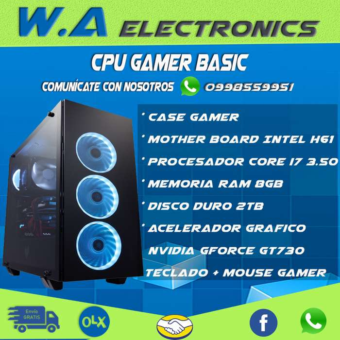 Cpu Gamer Basic