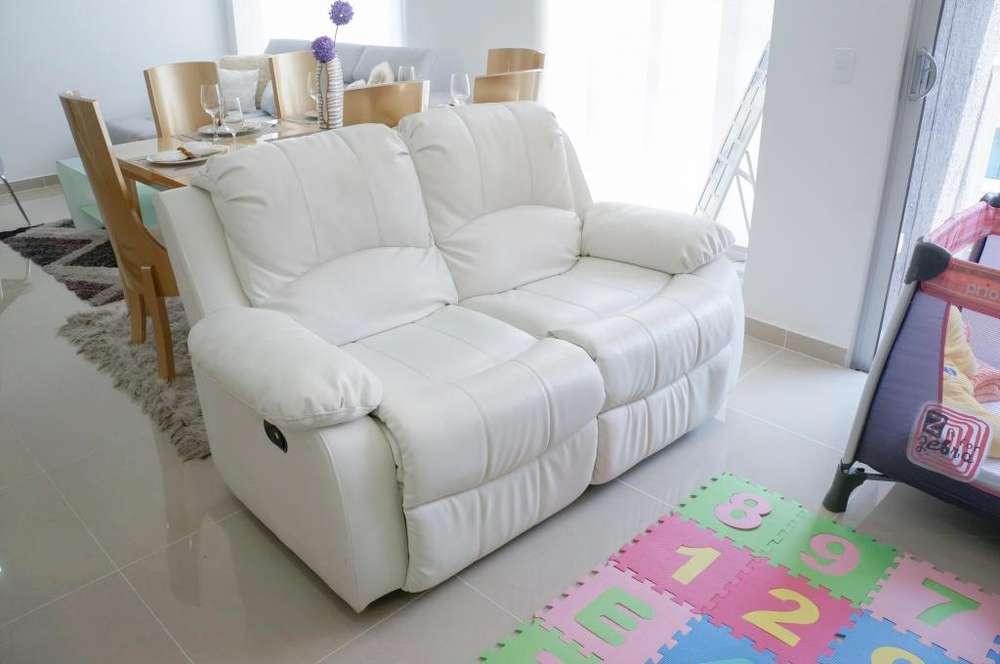 Sofá reclinable 2 puestos