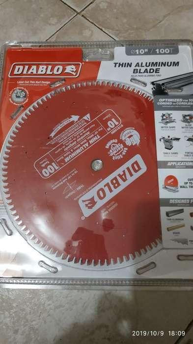 Disco para Corte de Aluminio Diablo 10pu