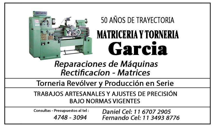 Torneria y Matriceria Don Torcuato Zona Norte