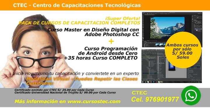 ¡Super Oferta! PACK DE CURSOS DE CAPACITACIÓN___COMPLETOS!