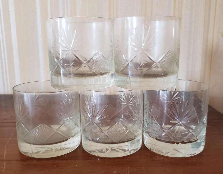 Vasos de Whisky de cristal