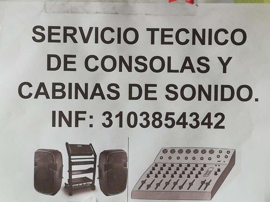 Servicio Técnico de Cabinas de Sonido