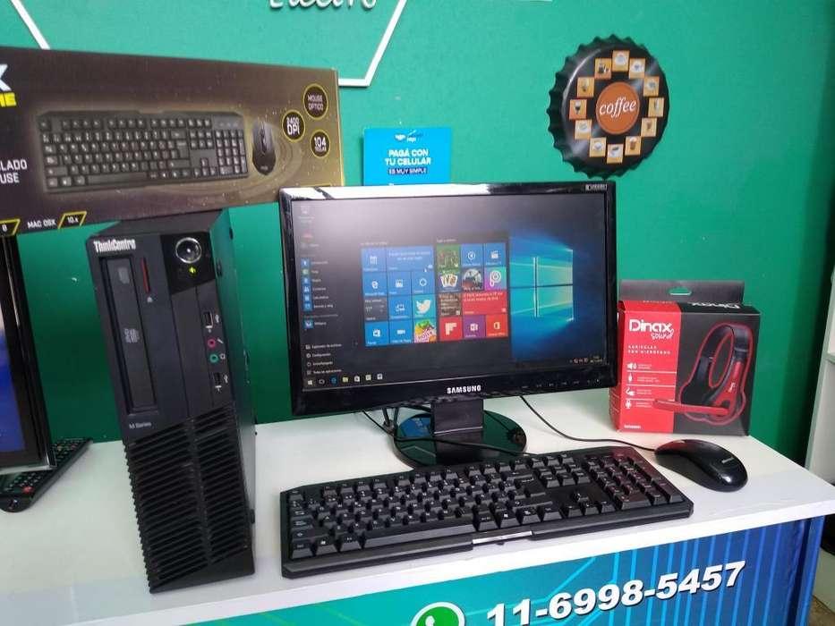 Pc Completa Core I3 Lenovo 4 Gb