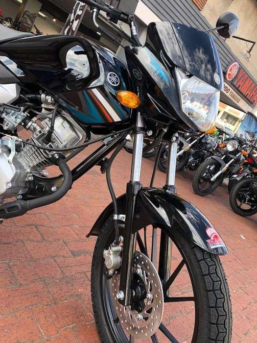 <strong>yamaha</strong> YCZ 110 NEGRO AZUL MODELO 2020