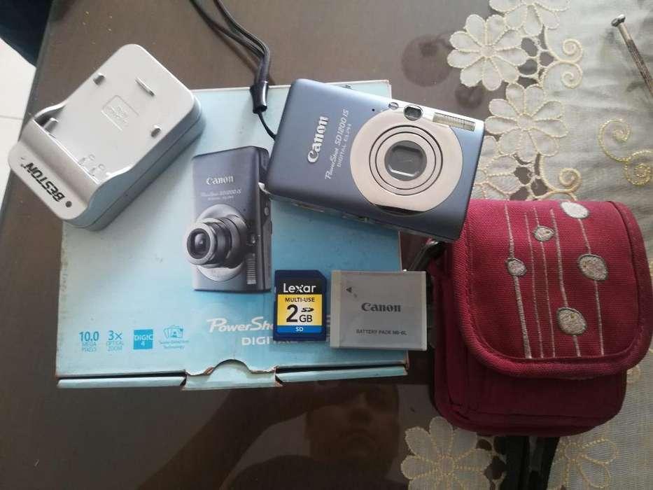 Camara <strong>digital</strong> Canon 10 Pixel