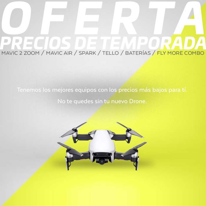 Drones DJI & Accesorios (Originales) Entrega Inmediata Mavic, Phantom, Spark, Osmo