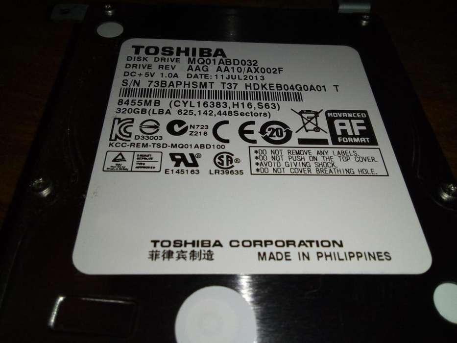 Disco rigido 320Gb Toshiba