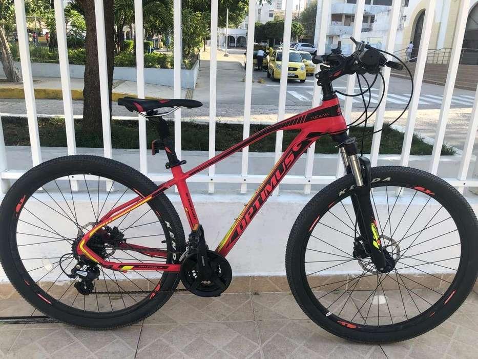 Bicicleta Mtb Optimus Tucana 27.5'' S