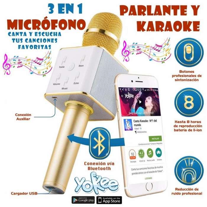 Microfono <strong>karaoke</strong> con Altavoces