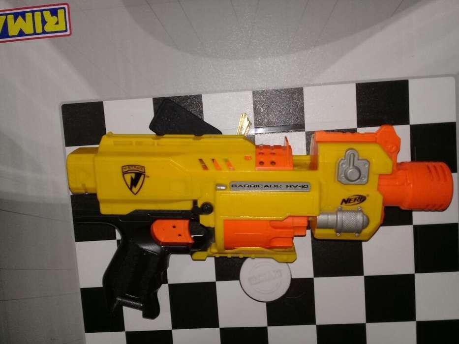 Pistola Nerf Nstrike