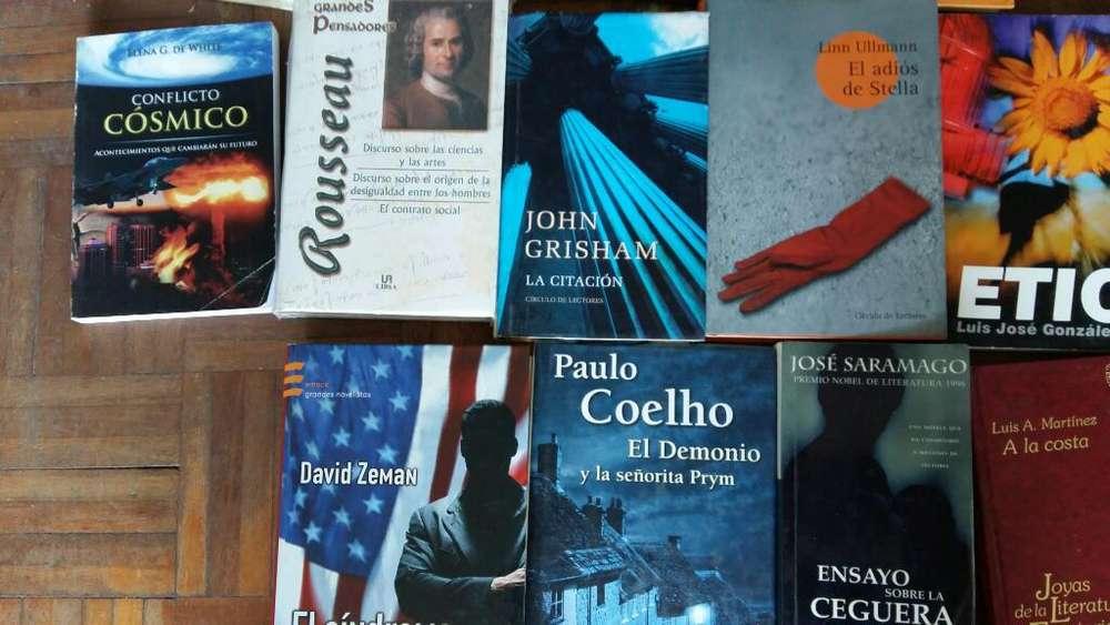Vendo libros nuevos y usados
