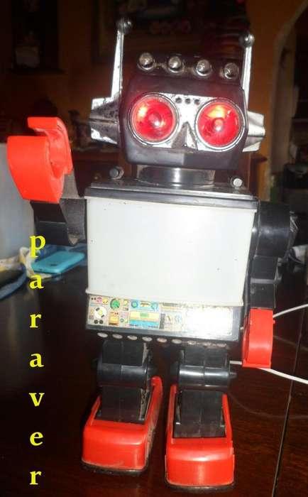 retro Robot Kamco Saturn buen Estado Impec Vintage 60s